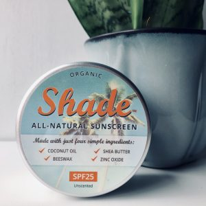 Shade all-natural sunscreen